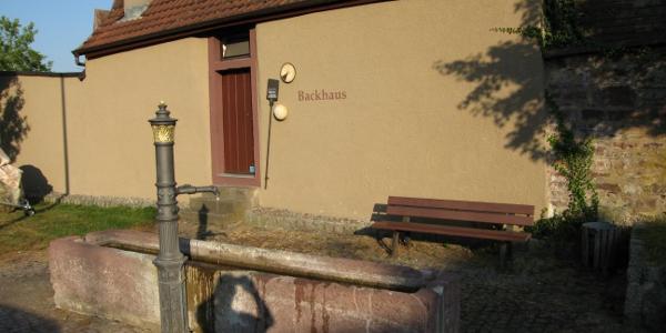 Altes Backhaus in Merklingen