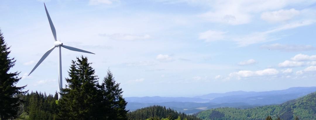 Panoramablick Richtung Nordschwarzwald