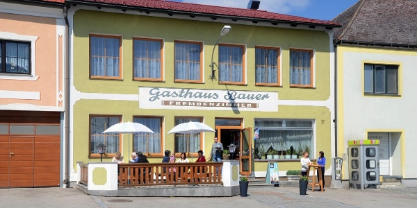 Gasthaus Bauer Außenansicht (Copyright: Bauer)