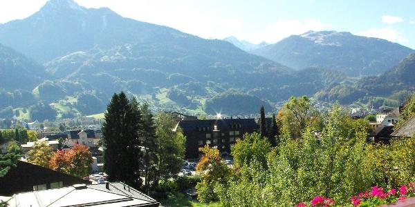 Herrlicher Blick auf die Montafoner Bergwelt