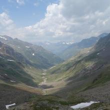 Blick von der Siegerland Hütte