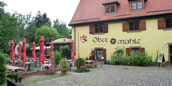 Schleifenroute Restaurant Obere Mühle Durlach