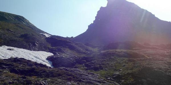 Zum Turmjöchl 2790 m.