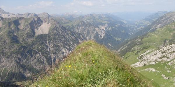 Gipfel der Glattjöchlspitze