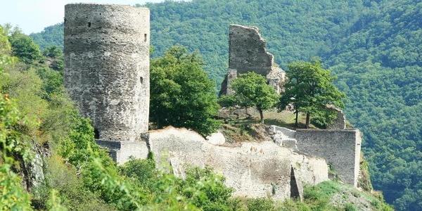 Begehbare Burgruine Stahlberg