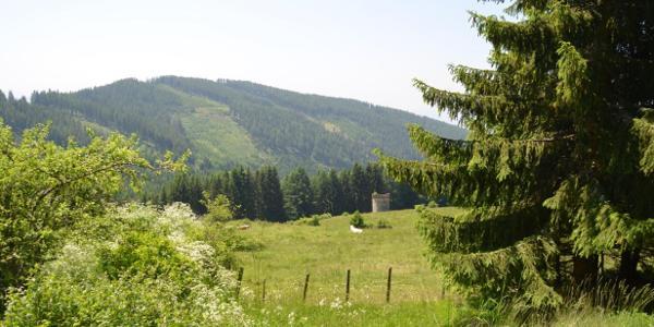 Pulverturm in Stoffen