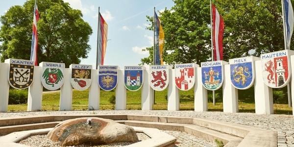 Nibelungendenkmal in Pöchlarn
