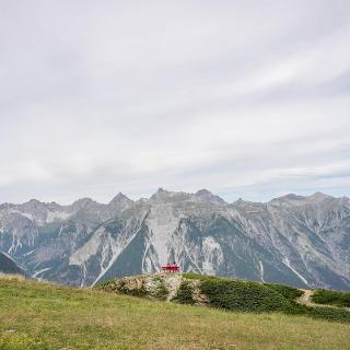 Panorama auf die benachbarte Parzinngruppe