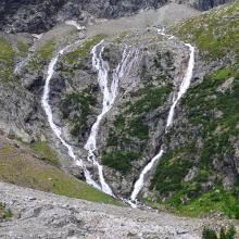 Wasserfall am Ende Gradenmoos