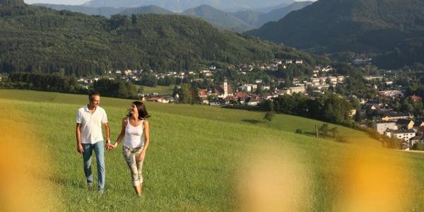 Herrliche Ausblicke rund um die Stadtgemeinde Scheibbs (Copyright: schwarz-koenig.at)