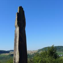 Skulptur am Nitteler Felsen