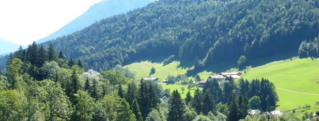 Blick Richtung Unternberg