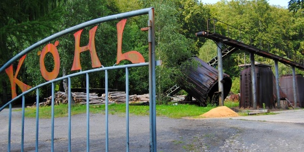 Eingang zu Köhlerei Eisenhammer © A. Schmidt