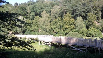 Radweg bei Bouseviller