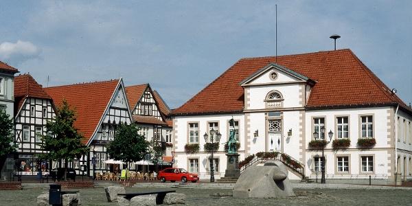 Marktplatz in Quakenbrück
