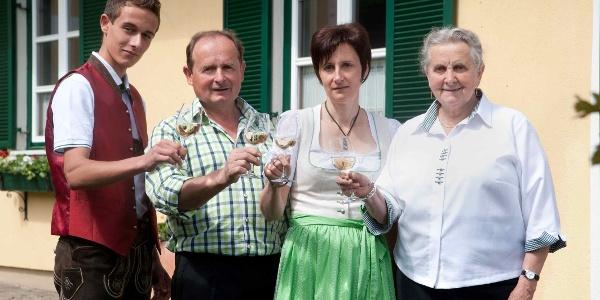 Buschenschank Kogler, Familie Kogler