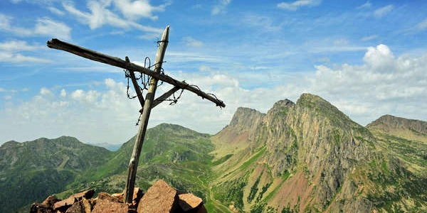 Cross on the top