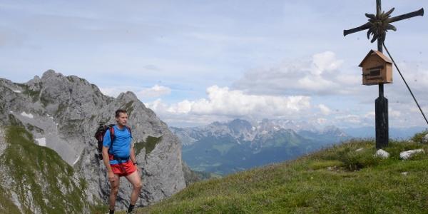 Der Edelweißkogel ist einr leicht zu erreichende Gipfel-Zugabe