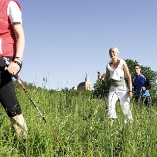 Nordic Walking mit Frau Retter