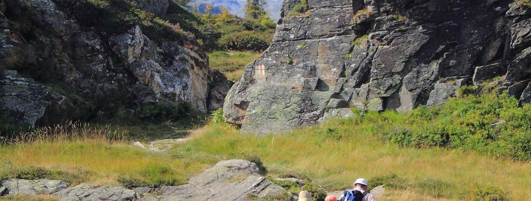 Blick zum vergletscherten Güferhorn