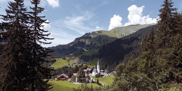 """Geocaching Schröcken """"Walserdorf & Naturjuwelen"""""""