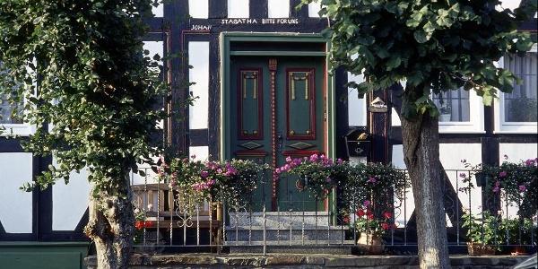 Fachwerkhaus in der Altstadt von Hallenberg