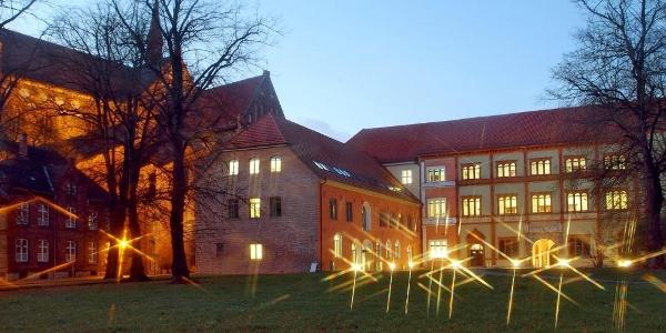 Fürstenhof in der Abenddämmerung