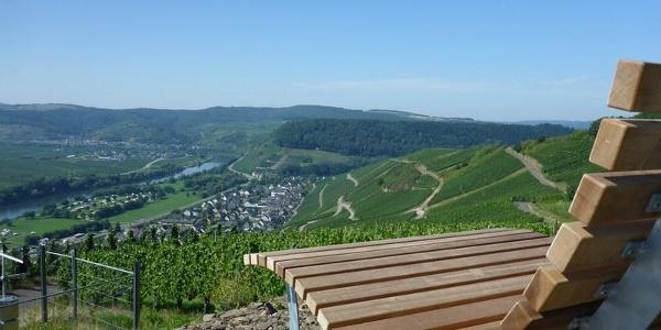 Panoramaliege an der Klüsserather Wetterstation