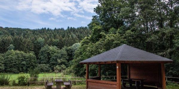 Schutzhütte am Schaafbach