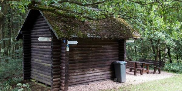 Schutzhütte am Stromberg