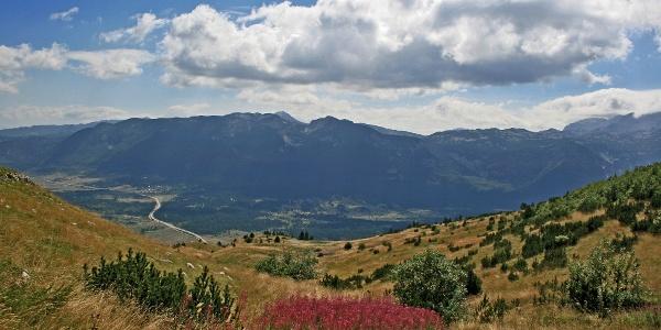 View on Cvrsnica