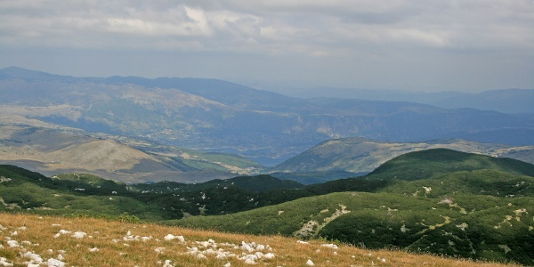View on Ramsko lake