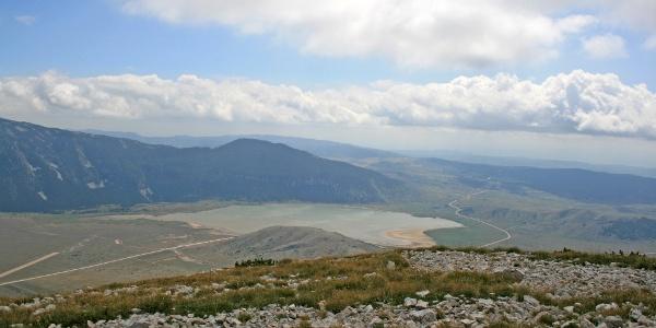View on Blidinje lake