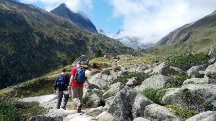 Aufstieg zur Franz-Senn-Hütte
