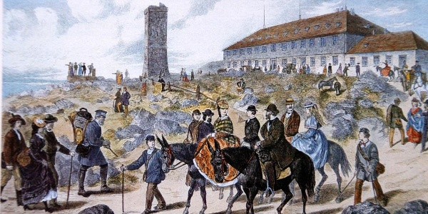 Brockentourismus um 1865