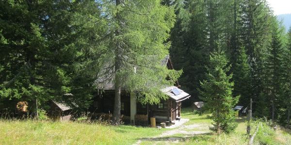 Jagdhütte kurz vor der Bertahütte