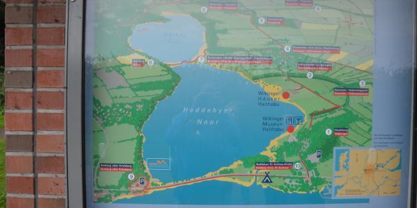 Haithabu Karte.Haithabu Noorrunde Wanderung Outdooractive Com