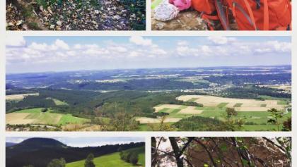 Aussicht vom Rechberg, Pfefferweg