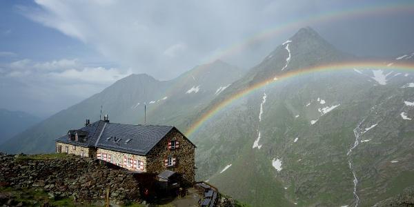 Nürnberger Hütte-Wetterstimmung