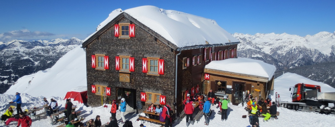 Wormser Hütte im Winter