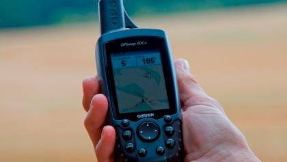 Zielpeilung mit GPS-Gerät