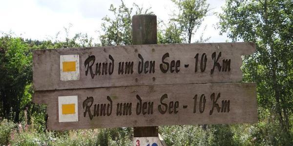 Wanderweg Kennzeichen