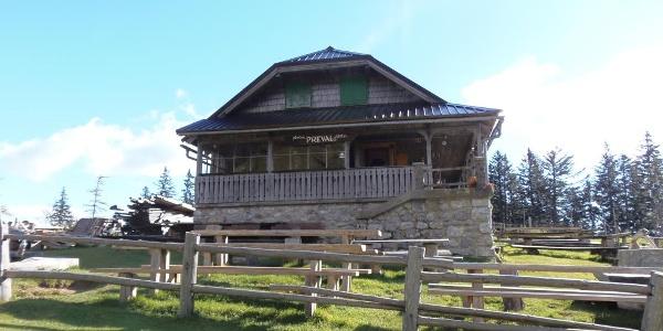 Hütte Preval Alm