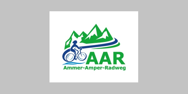 Ammer-Amper-Radweg Logo