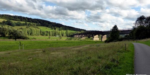Weserhöhen-Bahnbrücke Wehrden_Meinbrexen