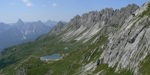 I laghi e l'altopiano di Olbe