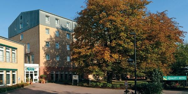 Quality Hotel Bielefeld: Außenansicht