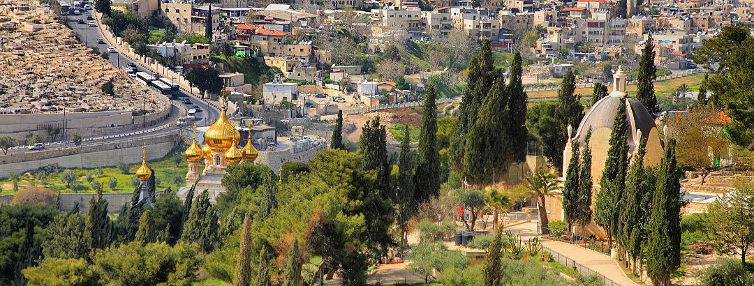 מבט על ירושלים מהר הזיתים