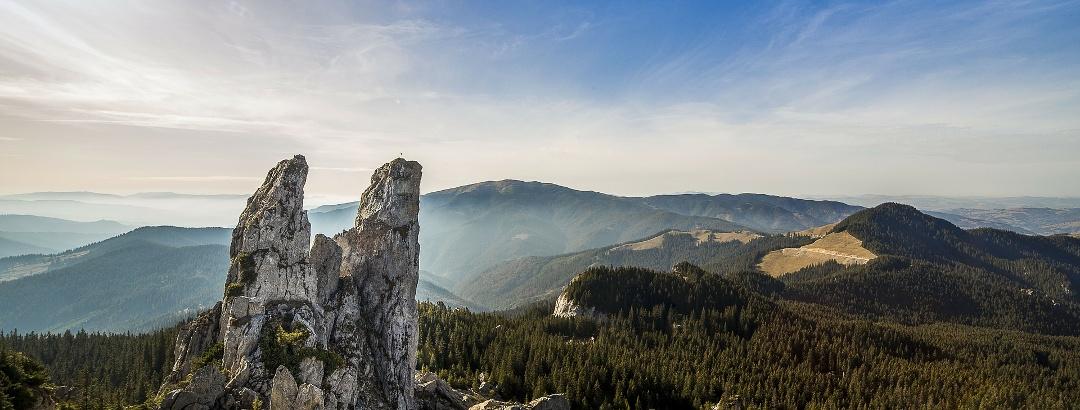 Pietrele Doamnei, Rarău Gebirge