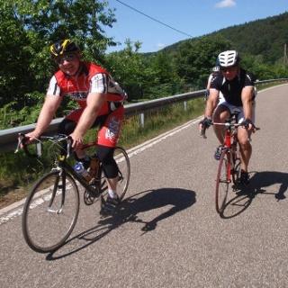 Rennradfahren im Bliesgau